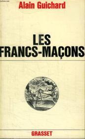 Les Francs-Macons. - Couverture - Format classique