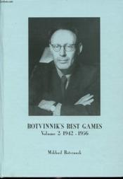 Botvinnik S Best Games Volume 2 : 1942-1956 - Couverture - Format classique