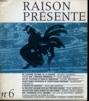 RAISON PRESENTE n°6 : Au congrès culturel de la havane - Y a-t-il une