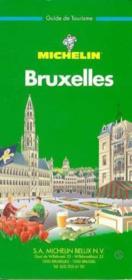 LE GUIDE VERT T.513 ; Bruxelles - Couverture - Format classique