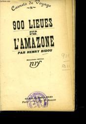 900 Lieues Sur L'Amarone - Couverture - Format classique