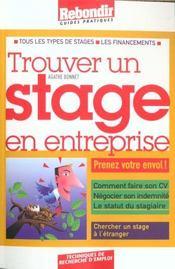 Trouver Un Stage En Entreprise - Intérieur - Format classique