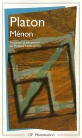 Ménon - Couverture - Format classique