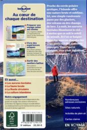 Islande (5e édition) - 4ème de couverture - Format classique