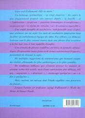 L'oral d'allemand aux coucours - 4ème de couverture - Format classique