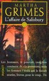 L'Affaire De Salisbury - Couverture - Format classique