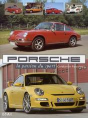 Porsche, la passion du sport - Couverture - Format classique