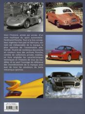 Porsche, la passion du sport - 4ème de couverture - Format classique