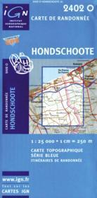 Hondschoote - Couverture - Format classique