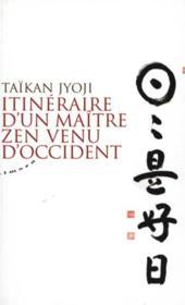 Itinéraire d'un maître zen venu d'occident - Couverture - Format classique