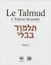 Talmud ; Babli Sota 2 t.18 - Couverture - Format classique