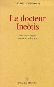 Le docteur Ineotis - Couverture - Format classique