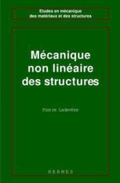 Mecanique non lineaire des structures (coll. etudes en mecanique des materiaux et des structures) - Couverture - Format classique