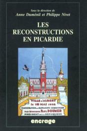 Reconstructions En Picardie - Couverture - Format classique