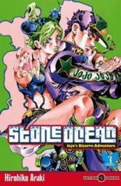 Jojo's bizarre adventure - saison 6 ; stone ocean T.3 - Couverture - Format classique