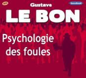 Psychologie des foules - Couverture - Format classique