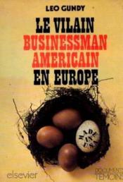 Le vilain businessman américain en Europe. - Couverture - Format classique