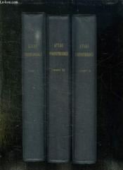 3 Classeurs. Atlas D Ornithologie. Incomplet. Manque 15 Fiches / 243. Les 3 - 4 - 7 - 63 - 64 - 82 - 111 - 140 - 165 - 168 - 179 - 180 - 192 - 221 - 224. - Couverture - Format classique