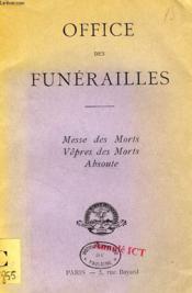 Office Des Funerailles - Couverture - Format classique