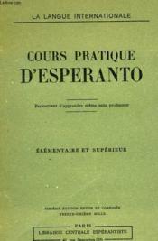 Cours Pratique D'Esperanto - Couverture - Format classique