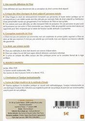 Sociologie du droit - 4ème de couverture - Format classique