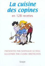 La cuisine des copines (nouvelle edition) - Intérieur - Format classique
