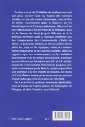 Ecriture de l'histoire et identite juive - 4ème de couverture - Format classique