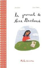 Le journal de Nina Petitbond - Couverture - Format classique