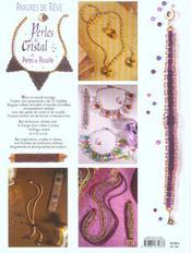 Parures De Reve Perles De Cristal & Perles De Rocaille - 4ème de couverture - Format classique