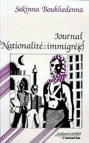 Journal nationalité : immigré(e) - Intérieur - Format classique