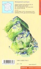 Le mont saint-michel - 4ème de couverture - Format classique