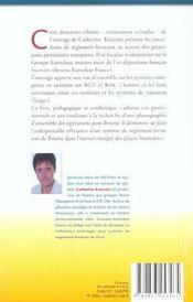 Les systemes de reglement-livraison des titres europeens - 4ème de couverture - Format classique
