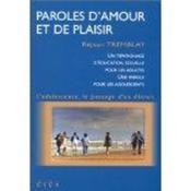 Paroles D'Amour Et De Plaisir - Couverture - Format classique