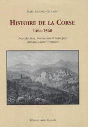 Histoire de la Corse ; 1464-1560 - Couverture - Format classique