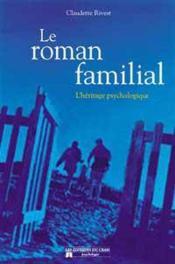 Roman familial - heritage psychologique - Couverture - Format classique