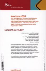 La soupe aux piments et autres sublimes idioties - 4ème de couverture - Format classique