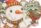 Mini Noël ; bonhomme de neige - Couverture - Format classique