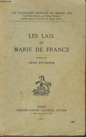 Les Lais De Marie De France - Couverture - Format classique