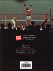 Mohammed Ali ; champion du monde - 4ème de couverture - Format classique