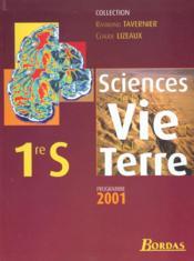 Sciences vie terre 1s eleve 01 - Couverture - Format classique