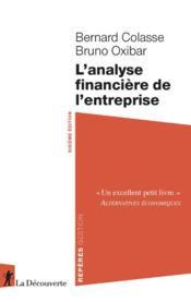 L'analyse financière de l'entreprise (6e édition) - Couverture - Format classique