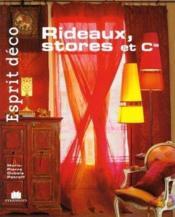 Rideaux, stores et cie - Couverture - Format classique