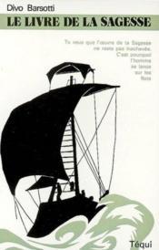 Le livre de la sagesse - Couverture - Format classique