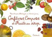 Confitures, compotes et fruits au sirop - Couverture - Format classique