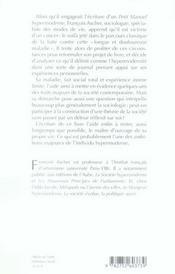 Examen clinique ; journal d'un hypermoderne - 4ème de couverture - Format classique