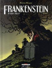 Frankenstein, de Mary Shelley t.1 - Intérieur - Format classique