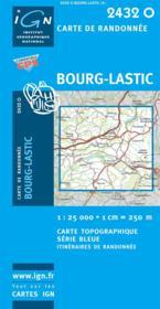 Bourg Lastic - Couverture - Format classique