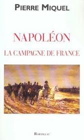 Napoleon La Campagne De France - Intérieur - Format classique