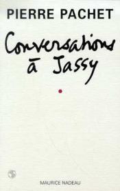 Conversations à Jassy - Couverture - Format classique