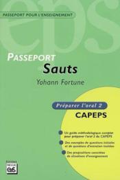Passeport sauts ; oral t.2 - Couverture - Format classique